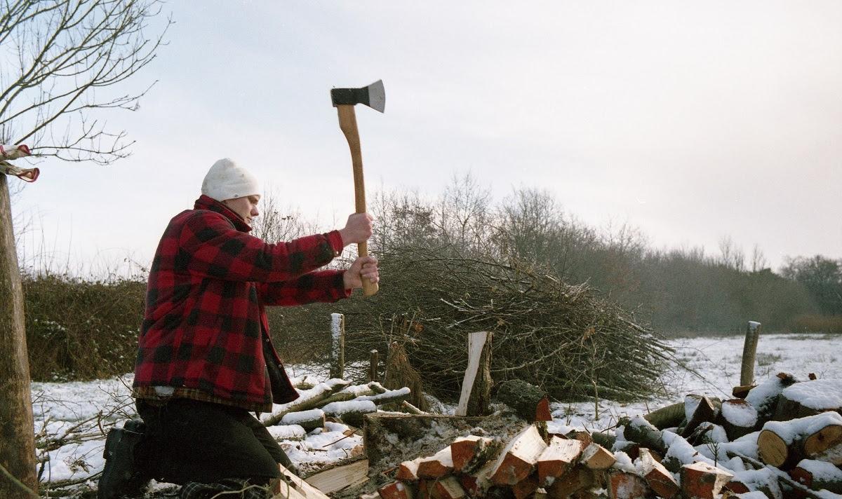 Harrie Leenders Waldtag Holz Hacken
