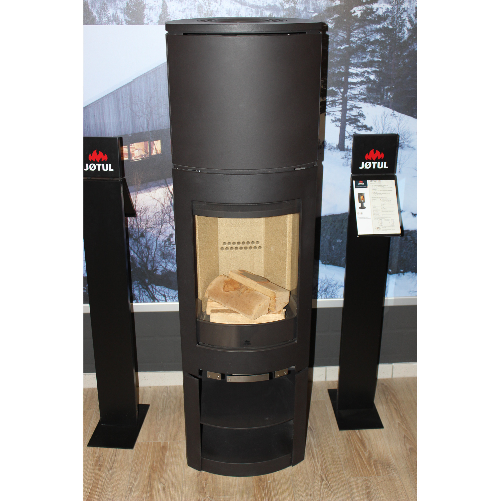 jotul f 371 high top inkl speicher kaminland shop. Black Bedroom Furniture Sets. Home Design Ideas